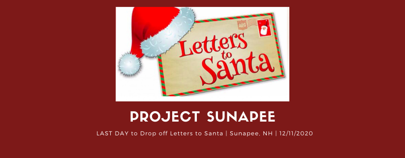 Last Day to Drop off Letters to Santa