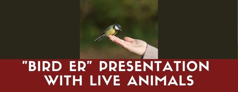"""VINS - """"Bird ER"""" Presentation with Live Animals"""
